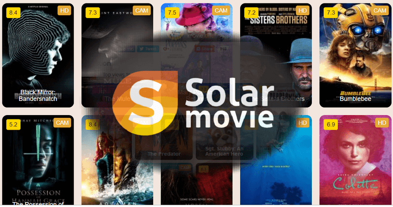 Top 8 Best Alternatives to Solarmovie 2019