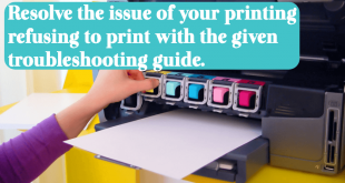 Resolve the issue of your printing refusing to print with the given troubleshooting guide.