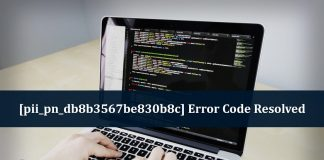 [PII_PN_DB8B3567BE830B8C] ERROR CODE RESOLVED
